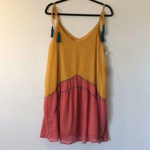 NWT tassel strap dress